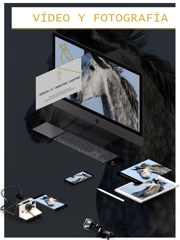 vídeo y fotografía marketing ecuestre